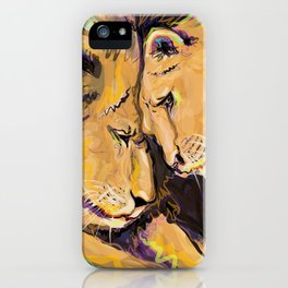 Long Lasting Lion Love iPhone Case