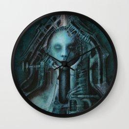 Bullet acryl on canvas 100 x 80 cm Wall Clock