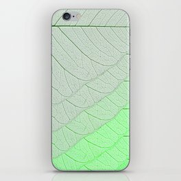 Leaves Green iPhone Skin