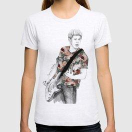 Floral Niall T-shirt