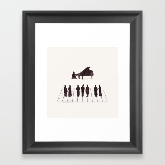 A Great Composition Framed Art Print