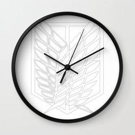 Survey Corps Wall Clock