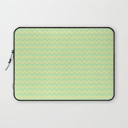 Pineapple Chevrons by Squibble Design Laptop Sleeve