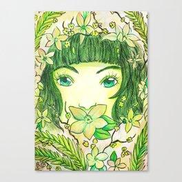 Colour Theme - Green Canvas Print