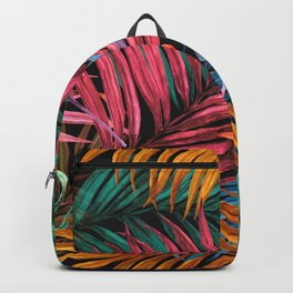 Colorful Palm Leaves Backpack