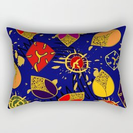 African Fancy 3 Rectangular Pillow