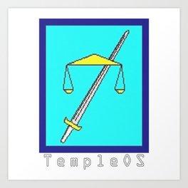 TempleOs Temple Art Print
