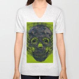 Skull Explotion Unisex V-Neck