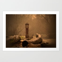 Time Waits for No One  Art Print