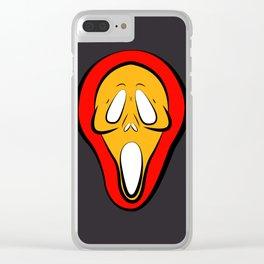 ghostface Clear iPhone Case