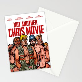 Not Another Chris Movie Stationery Cards