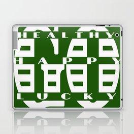 Healthy Go Happy Go Lucky Laptop & iPad Skin