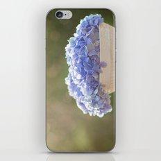 Hydrangea Bowl iPhone & iPod Skin
