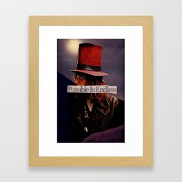 Possible is Endless Framed Art Print