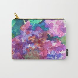 Bold Color Lilacs Carry-All Pouch