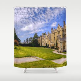 Landscaped Architecture.  Shower Curtain