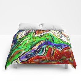 Misunderstood - Texture 7 Comforters
