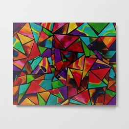 Window to a Colorful Soul Metal Print