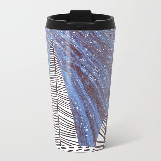 Night forest Metal Travel Mug