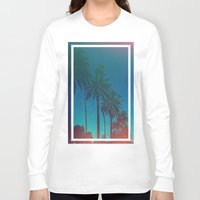 los angeles Long Sleeve T-shirts featuring Los Angeles. by Daniel Montero