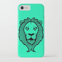 lion king iPhone & iPod Cases featuring Lion King by ArtSchool