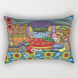 Flavours of Provence Rectangular Pillow
