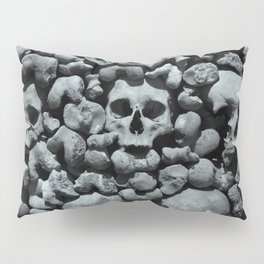 Wall of Remains B'n'W Pillow Sham