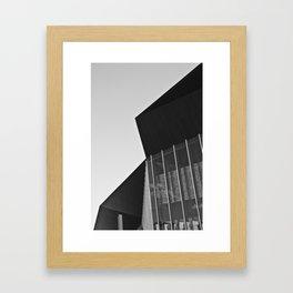 Polygon (South Wharf, 2011) Framed Art Print