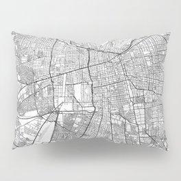 Santiago Map Line Pillow Sham