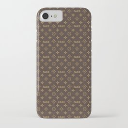 Fake LV iPhone Case