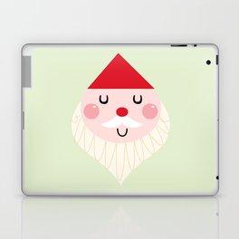Adorable christmas Santa isolated on white Laptop & iPad Skin