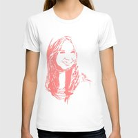 karen hallion T-shirts featuring Karen Gillan by josie leigh