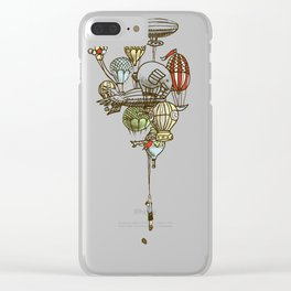 The Great Balloon Adventure Clear iPhone Case