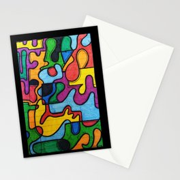 Picasso style Stationery Cards