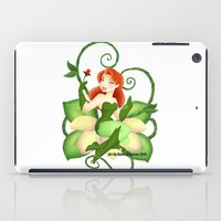 poison ivy iPad Cases featuring Poison Ivy  by Katie Simpson a.k.a. Redhead-K