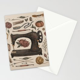 Sewing Collection Stationery Cards