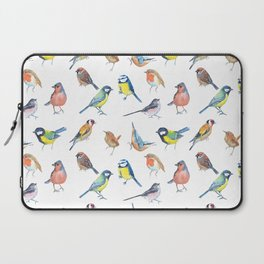British Garden Birds Laptop Sleeve