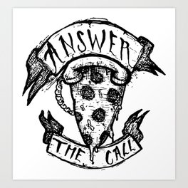 Answer the Call Art Print