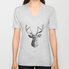 Hello Deer Unisex V-Neck