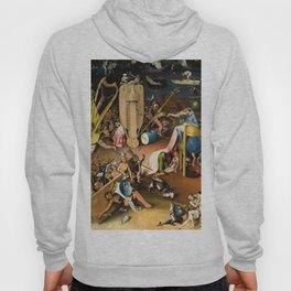 The Garden of Earthly Delights - Bosch - Hell Bird Man Detail Hoody
