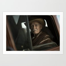 Joshua Tree Portrait 2 Art Print