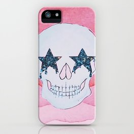 star skull iPhone Case