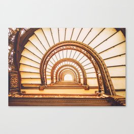 Rookery Building: Let There Be Light Canvas Print