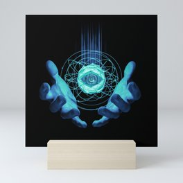 Virtual Reality Check Mini Art Print