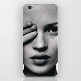 Kate Moss fashion iPhone Skin