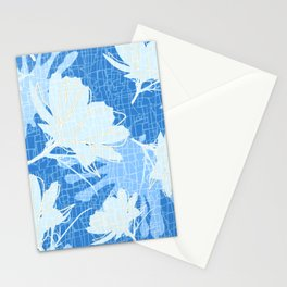 Batik Cosmos and African Daisy Stationery Cards