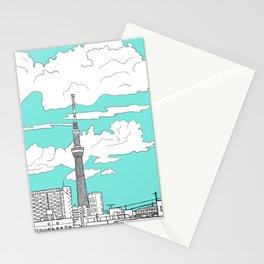 Tokyo Sky Tree Stationery Cards