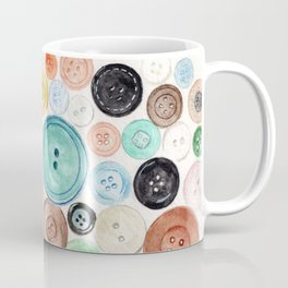 Buttons! Coffee Mug