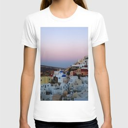 Dawn of Santorini Greece T-shirt