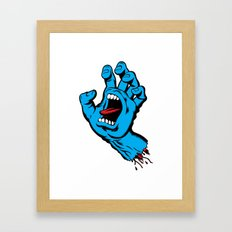 Screaming Hand (1985) Framed Art Print